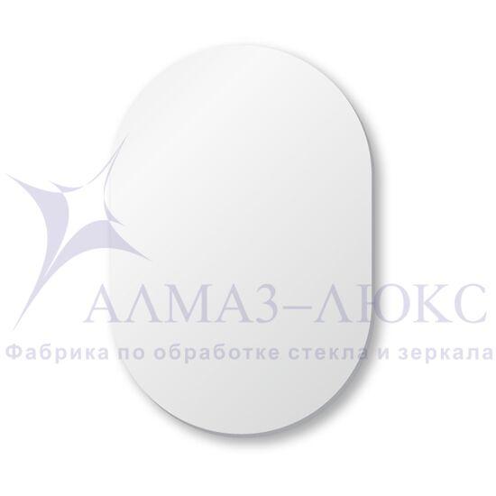 Зеркало овальное со шлифованной кромкой А-024 в Минске и Беларуси