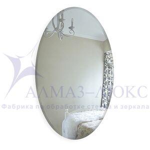 Зеркало овальное  с фацетом  8c - C/059