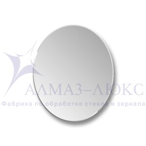 Зеркало овальное  с фацетом  8c - C/056