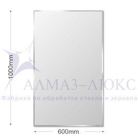 Зеркало прямоугольное с фацетом С-010