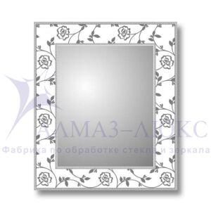 Зеркало настенное прямоугольное Д-006
