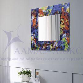 Зеркало настенное квадратное Д-021-1 (70х70) в Минске и Беларуси