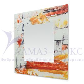 Зеркало настенное квадратное Д-021-2 (70х70) в Минске и Беларуси