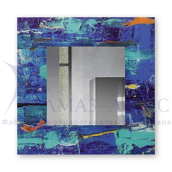 Зеркало настенное квадратное Д-021-3 (70х70) в Минске и Беларуси