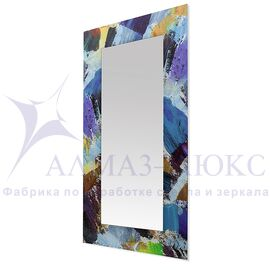 Зеркало настенное прямоугольное Д-022-1 (120х60) в Минске и Беларуси
