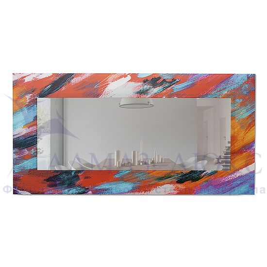 Зеркало настенное прямоугольное Д-022-3 (120х60) в Минске и Беларуси