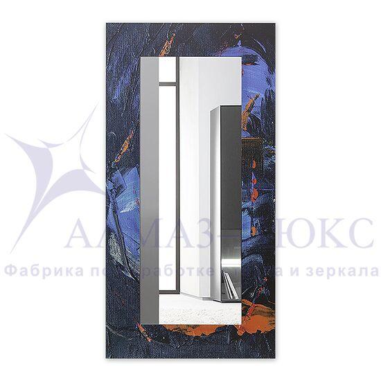 Зеркало настенное прямоугольное Д-022-4 (120х60) в Минске и Беларуси