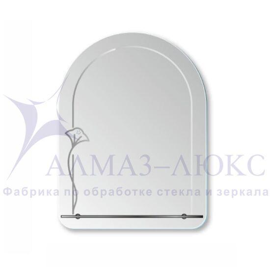 Зеркало с полкой Г - 043