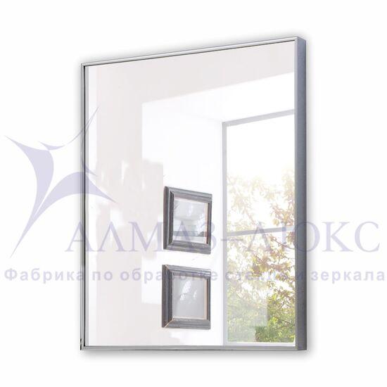 Зеркало прямоугольное в алюминиевой раме M-149 (70х50) в Минске и Беларуси