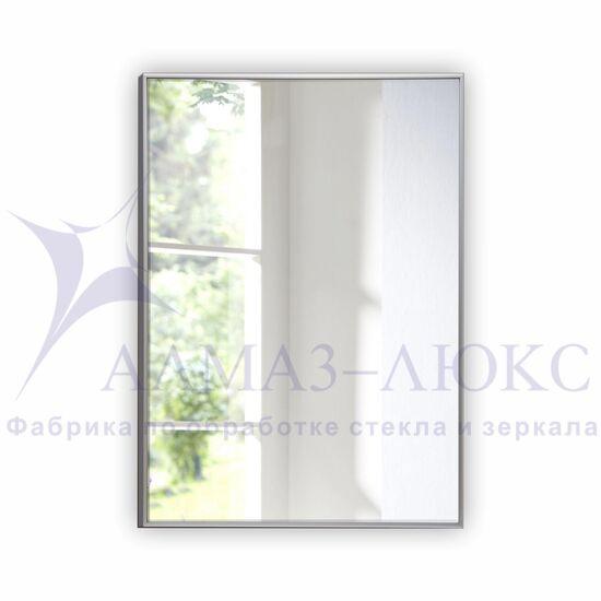 Зеркало прямоугольное в алюминиевой раме M-150 (100х70) в Минске и Беларуси
