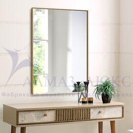 Зеркало прямоугольное в алюминиевой раме M-199 (80х60) в Минске и Беларуси