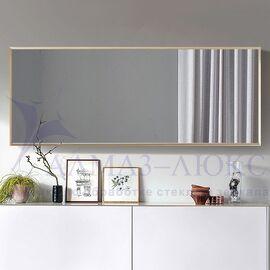 Зеркало прямоугольное в алюминиевой раме M-200 (120х40) в Минске и Беларуси