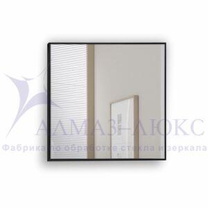 Зеркало квадратное в алюминиевой раме M-244