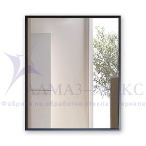 Зеркало прямоугольное в алюминиевой раме M-247