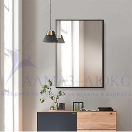 Зеркало прямоугольное в алюминиевой раме M-248 (60х40) в Минске и Беларуси