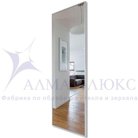 Зеркало прямоугольное в алюминиевой раме M-255 (180х60) в Минске и Беларуси