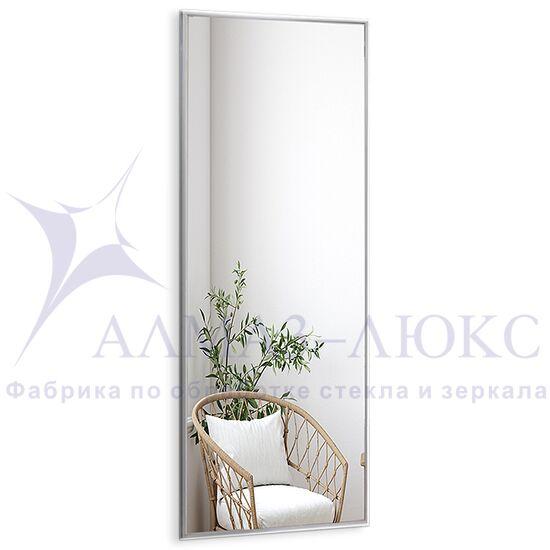 Зеркало прямоугольное в алюминиевой раме M-256 (150х50) в Минске и Беларуси