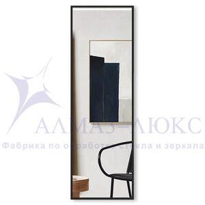 Зеркало прямоугольное в алюминиевой раме M-258 (150х50)
