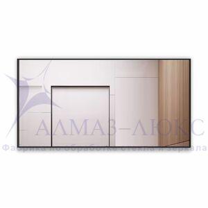 Зеркало прямоугольное в алюминиевой раме M-259 (120х60)