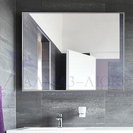 Зеркало прямоугольное в алюминиевой раме M-151 в Минске и Беларуси