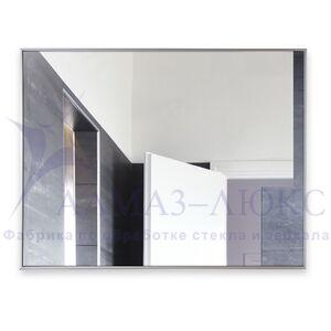 Зеркало прямоугольное в алюминиевой раме M-151