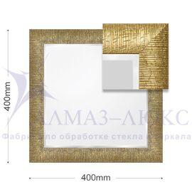 Зеркало в багетной раме 10с - M/002 (40х40) в Минске и Беларуси