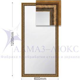 Зеркало в багетной раме М-109 (120х60) в Минске и Беларуси