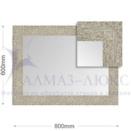 Зеркало в багетной раме М-136