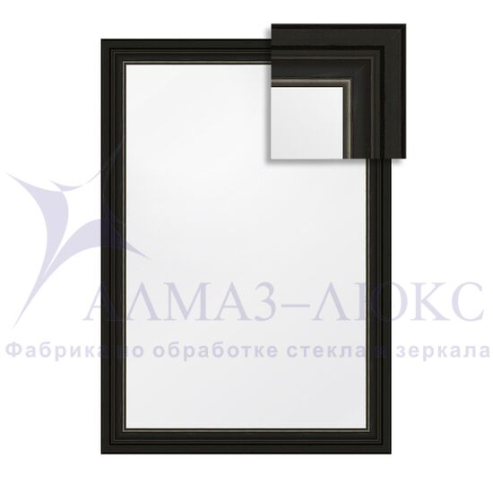 Зеркало в багетной раме М-142