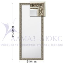 Зеркало в багетной раме М-161