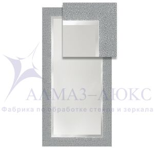 Зеркало в багетной раме М-206