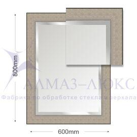 Зеркало в багетной раме М-219