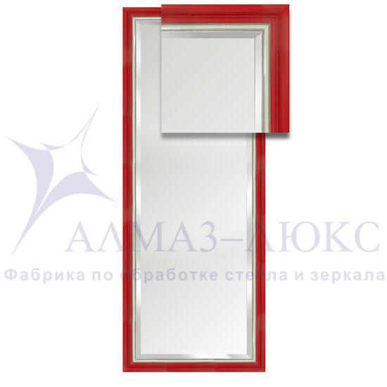 Зеркало в багетной раме М-227