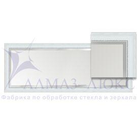 Зеркало в багетной раме М-229