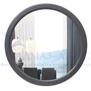 Зеркало круглое в деревянной раме М-249