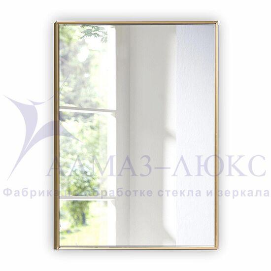 Зеркало прямоугольное в алюминиевой раме M-260 (100х70) в Минске и Беларуси