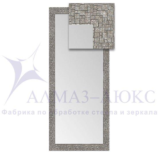 Зеркало в багетной раме М-297 (130х55) в Минске и Беларуси
