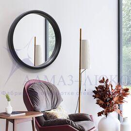 Зеркало круглое в деревянной раме М-301 (D61,5) в Минске и Беларуси
