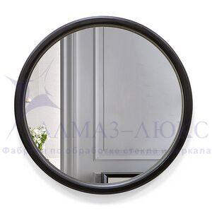 Зеркало круглое в деревянной раме М-301 (D61,5)