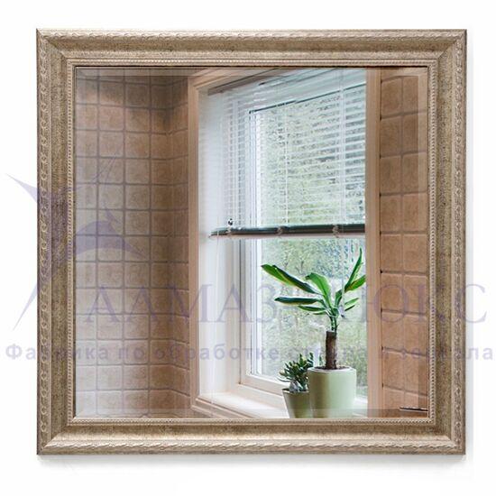 Зеркало в багетной раме М-302 (70х70) в Минске и Беларуси