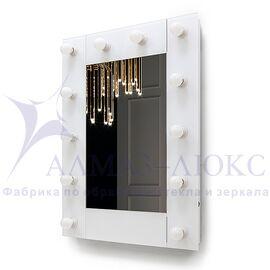 Зеркало с подсветкой гримёрное ЗП-119-1 (80х60) в Минске и Беларуси