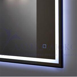 Зеркало с подсветкой в раме ЗП-103 (100х60) в Минске и Беларуси
