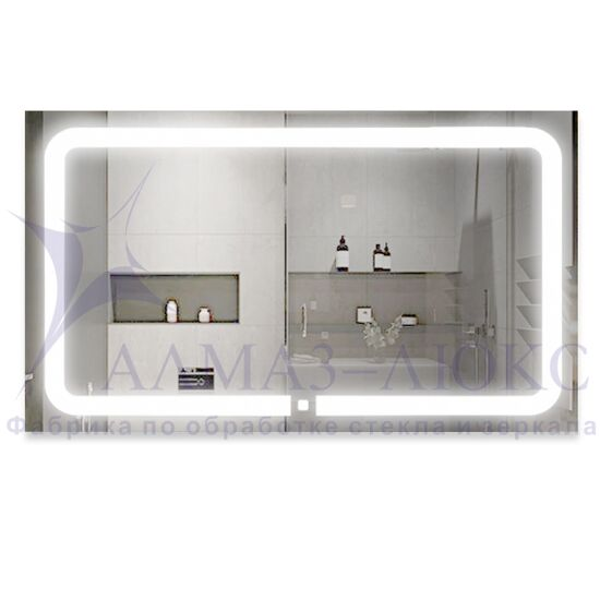 Зеркало с подсветкой ЗП-41