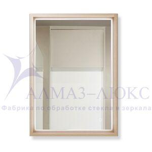 Зеркало с подсветкой  в багетной раме ЗП-49
