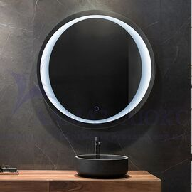 Зеркало с подсветкой круглое ЗП-55