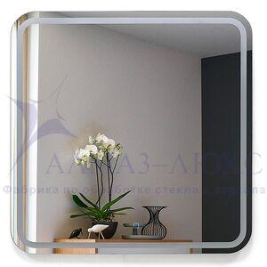 Зеркало с подсветкой ЗП-75 (80х80)