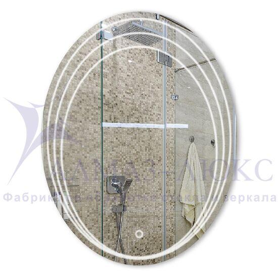 Зеркало с подсветкой овальное ЗП-81