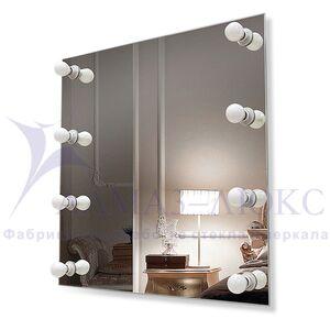 Зеркало с подсветкой гримёрное ЗП-83