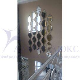 Зеркальная плитка, мозаика, панно