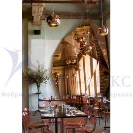 Зеркала в кафе, рестораны, гостиницы